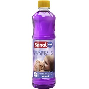 Eliminador De Odores Sanol Gatos 500ml