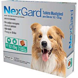 Antipulga NexGard 10,1 A 25kg Caixa Com 1 Tablete