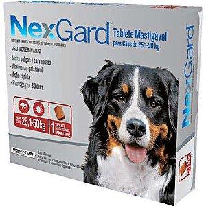 Antipulga NexGard 25,1 A 50kg Caixa Com 1 Tablete