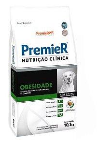 RAÇÃO PREMIER NUTRIÇÃO CLINICA CAO OBESIDADE RAÇA MÉDIA E GRANDE 10,1KG