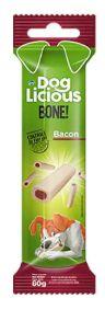 PETISCO DOGLICIOUS BONE BACON 80G