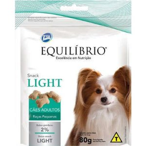 Snack Equilibrio Light Cao Adulto Raça Pequena 80g