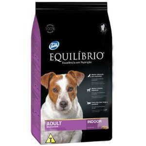 Ração Equilibrio Cao Adulto Small Breeds Indoor 12kg