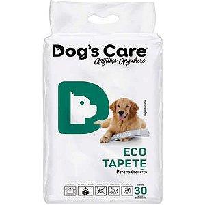 TAPETE HIGIENICO DOG'S CARE ECO GRANDE PORTE COM 30 UNIDADES