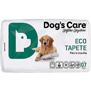 Tapete Higienico Dog's Care Eco Grande Porte Com 7 Unidades