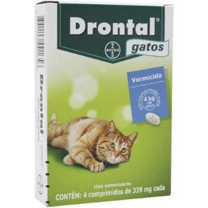 Vermifugo Drontal Plus Gatos