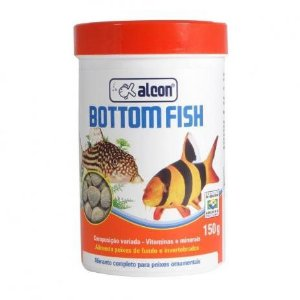 ALIMENTO ALCON BOTTOM FISH 150G