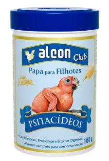 Alimento Alcon Club Papa Filhotes Psitacideos 160g
