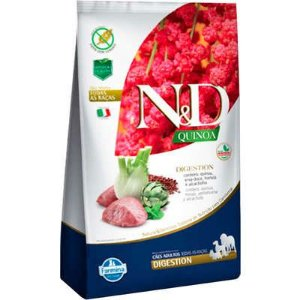 Ração N&D Quinoa Cão Adulto Digestion Cordeiro 2,5kg