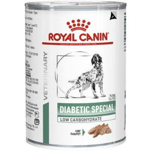 Lata Royal Canin Veterinary Diet Cão Diabetic Special 410g