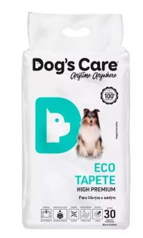Tapete Higiênico Dog's Care Eco Tapete High Premium Com 30 Unidades