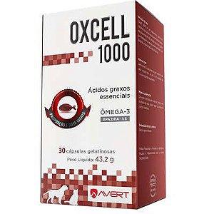 Suplemento Oxcell 1000 Caixa com 30 cápsulas