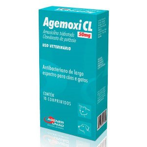Antibiótico Agemoxi Cl 50mg