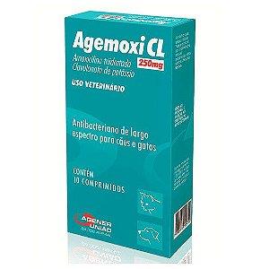 Antibiótico Agemoxi CL 250mg