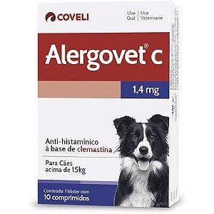 Antialérgico Alergovet C 1,4mg Caixa Com 10 Comprimidos