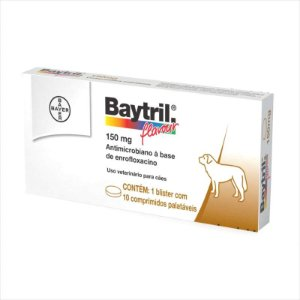 Antibiótico Baytril Flavour 150mg