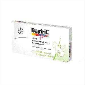 Antibiótico Baytril Flavour 15mg