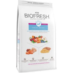 Ração Biofresh Cao Adulto Light Raça Media 3kg