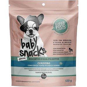 Biscoito Oh La La Baby Snacks Cordeiro 120g