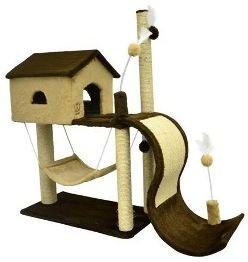 Arranhador São Pet House Tobogã