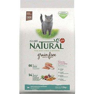 Ração Guabi Grain Free Gato Adulto Castrado Salmão E Lentilha 7,5kg