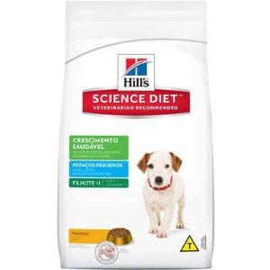 Ração Hill's Cão Filhote Raça Pequena Crescimento Saudavel 1kg