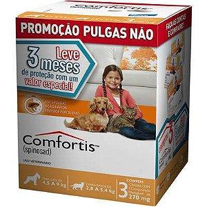 Antipulga Comfortis 270mg Caixa Com 3 Comprimidos