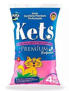 Areia Kets Premium Perfumada 4kg