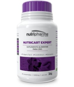 Suplemento Nutricart Expert 1000 Caixa Com 30 Comprimidos