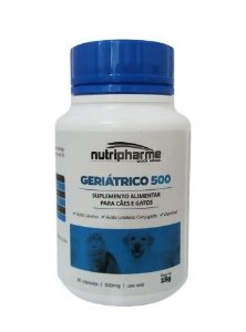 Suplemento Vitamínico Geriátrico 500mg C/30 Caps