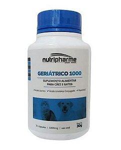 Suplemento Vitamínico Geriátrico 1000mg C/30 Caps