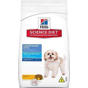 Ração Hill's Cão Senior Raça Pequena Longevidade Ativa 1kg