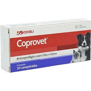 Anticoprofágico Coprovet Caixa Com 20 Comprimidos