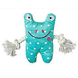 "Brinquedo Au! Pet Frog Greybar 6"""