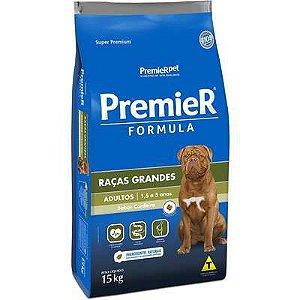 Ração Premier Formula Cão Adulto Raça Grande Cordeiro 15kg