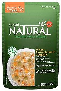 Guabi Natural Sache Cao Adulto Frango E Cereais 100g