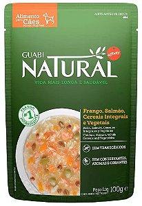 Guabi Natural Sache Cao Adulto Frango E Salmao 100g