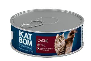 Lata Katbom Gato Carne 170g