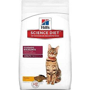 Ração Hill's Gato Adulto Cuidado Excelente 1,5Kg