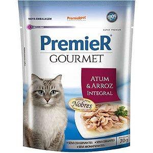 Sachê Premier Gourmet Gato Adulto Atum 70g