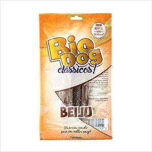 Petisco Biodog Clássicos Beiju Desidratado c/ 3 unidades
