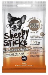Bifinho French Co Sheepy Sticks Manga, Abobora E Curcuma 60g