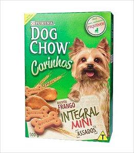 Biscoito Dog Chow Carinhos Integral Mini Raça Pequena 500g