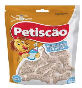 Biscoito Petiscão Ossinho de Leite 200g