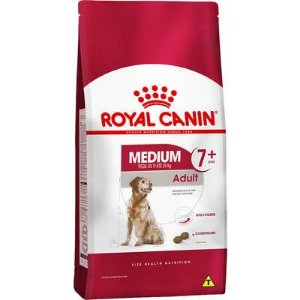 Ração Royal Canin Cão Medium Adulto 7+ 15Kg