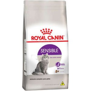 Ração Royal Canin Gato Adulto Sensible 400g