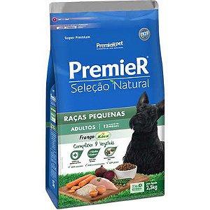 Ração Premier Seleção Natural Cão Adulto Raça Pequena Frango Korin 2,5kg