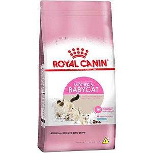 Ração Royal Canin Mother and Baby Gato Filhote e Gestante 1,5kg