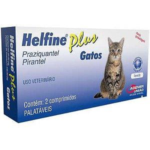 Vermífugo Helfine Plus Gato