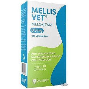 Anti-Inflamatorio Mellis Vet Cão 5 A 10kg 0,5mg